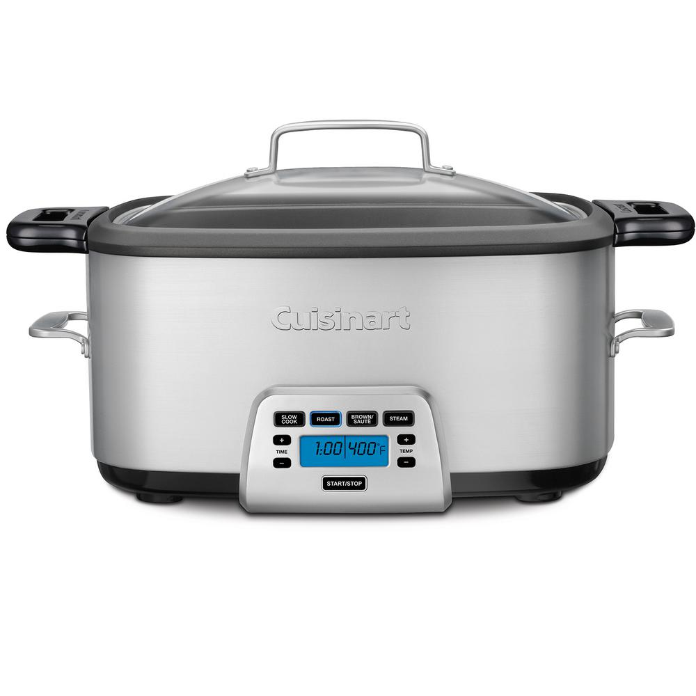 cuisinart slow cooker cuisinart 7 qt cook central multicooker mcs 800 the 10785