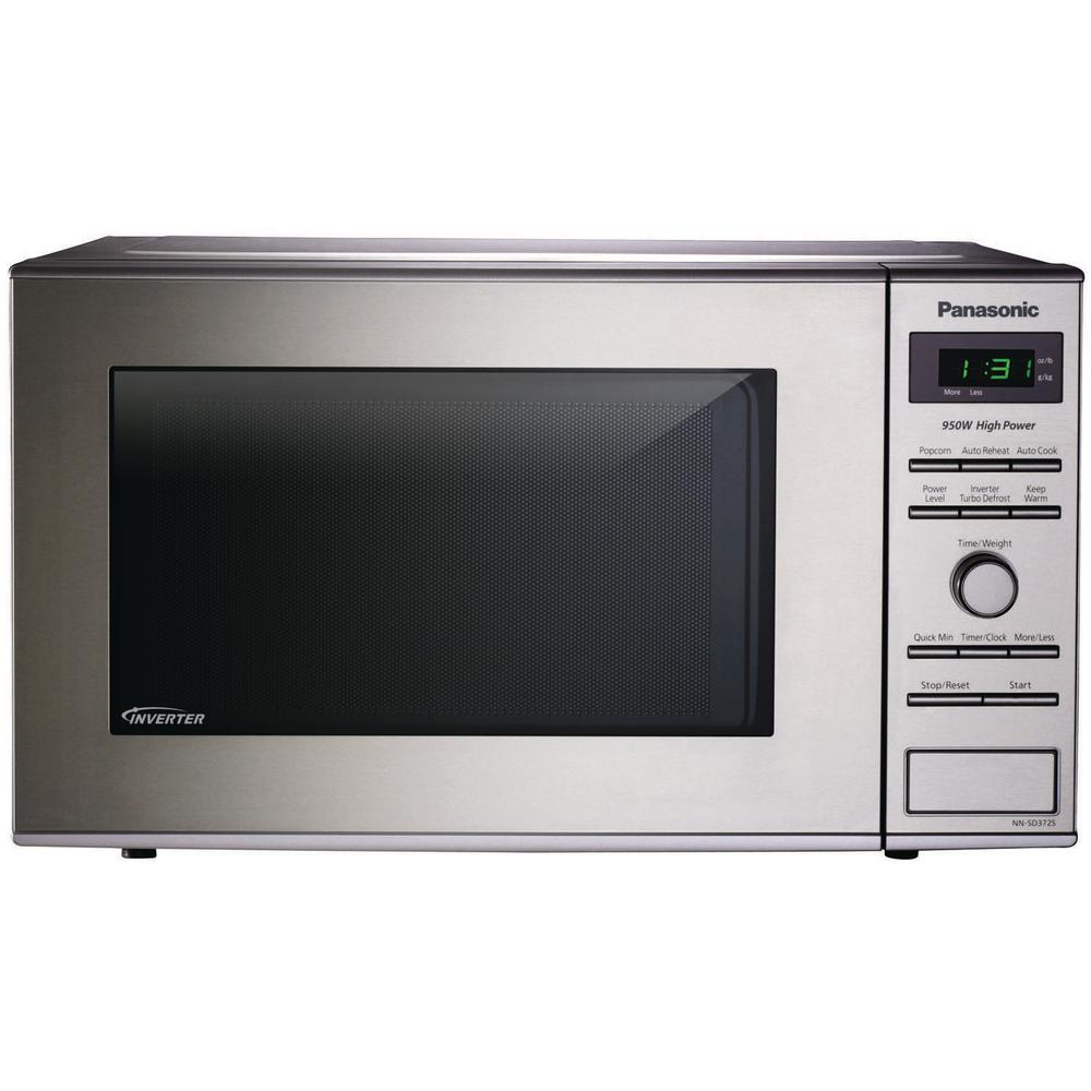Kitchenaid 15 Cu Ft Countertop Microwave In Stainless Steel Control Panel Wiring Diagram For With Inverter Technology