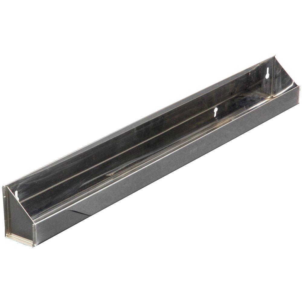 3 in. x 31.1 in. x 2 in. Steel Sink Front Tray Cabinet Orgainzer
