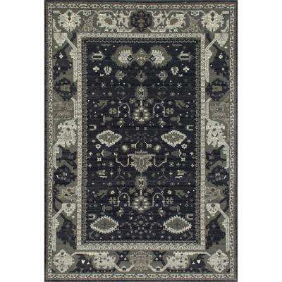 Maison Intent Gray 8 ft. x 12 ft. Area Rug