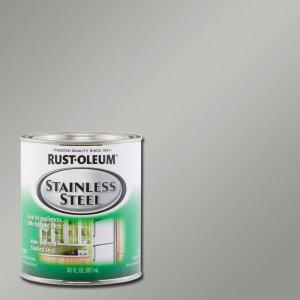 Stainless Steel Satin Paint (Case Of 2)