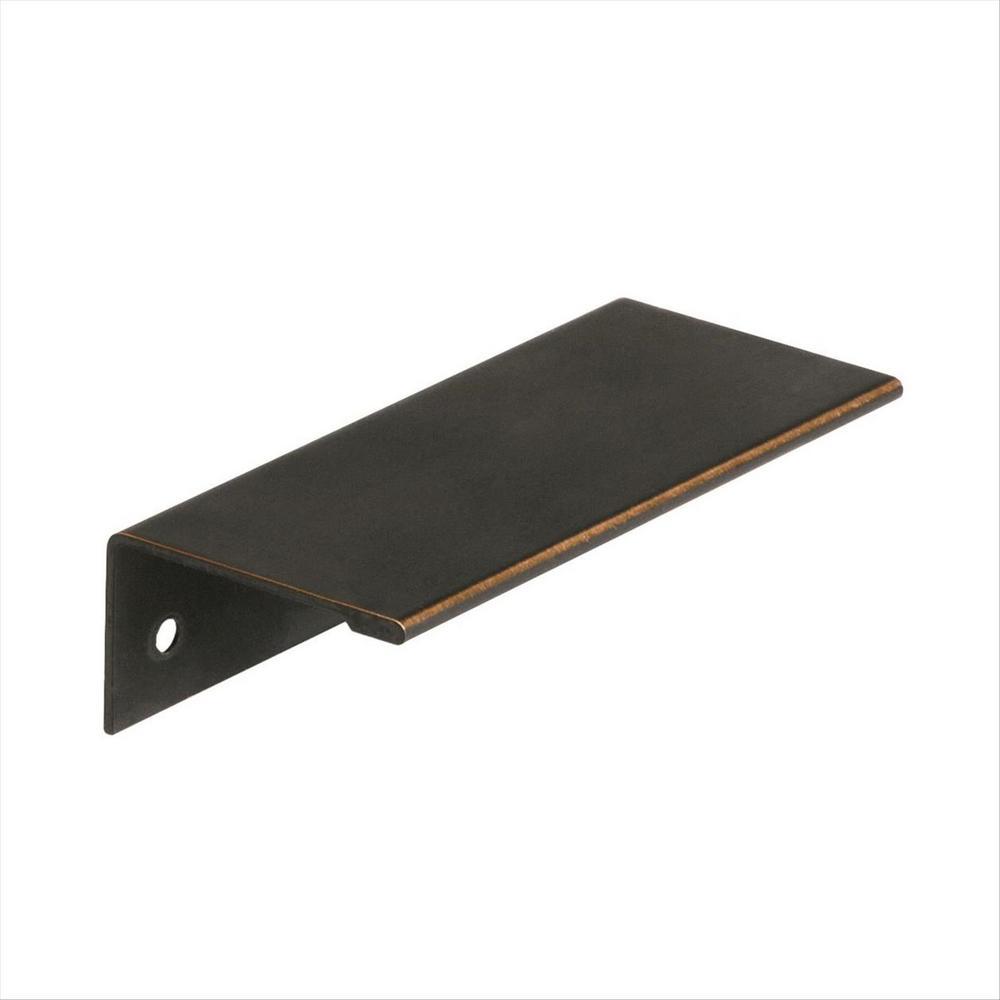 recessed flush pull drawer pulls cabinet hardware the home depot. Black Bedroom Furniture Sets. Home Design Ideas