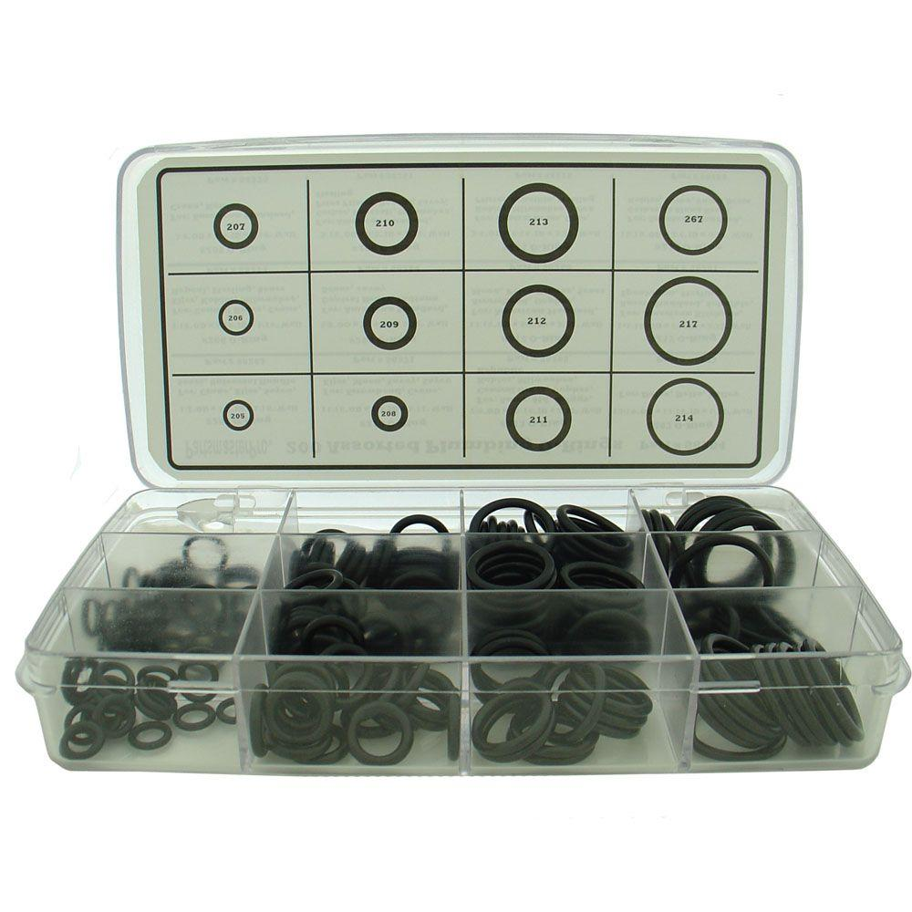PartsmasterPro Assorted O-Ring Kit Box (200-Pack)-58284B - The Home ...