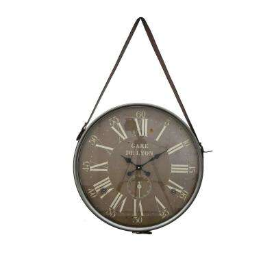 26 in. Wall Hanging Clock