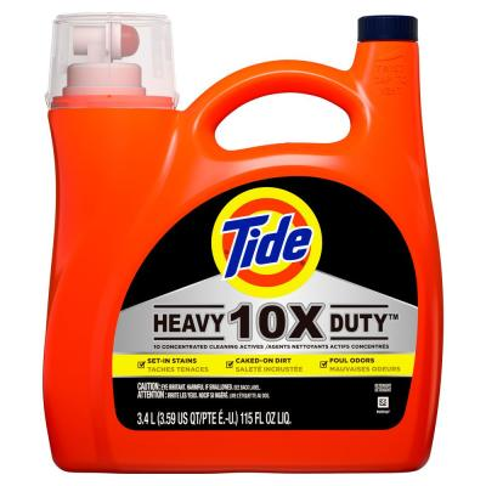 115 oz. Heavy Duty Laundry Detergent (60 Loads)