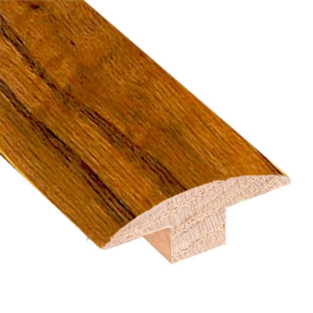 Oak Old World Brown 3/4 in. Thick x 2 in. Wide x 78 in. L...