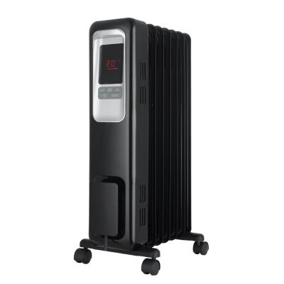 1,500-Watt Digital Electric Oil-Filled Radiant Portable Space Heater