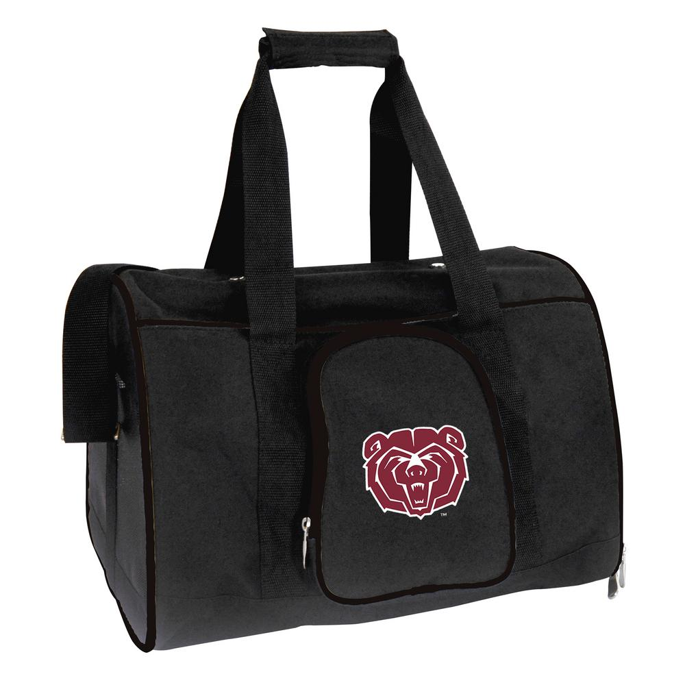NCAA Missouri State University Bears Pet Carrier Premium 16 in. Bag
