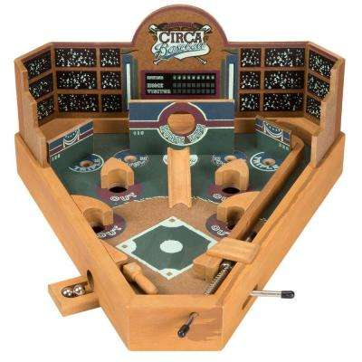 13 in. Tabletop Baseball Pinball Game