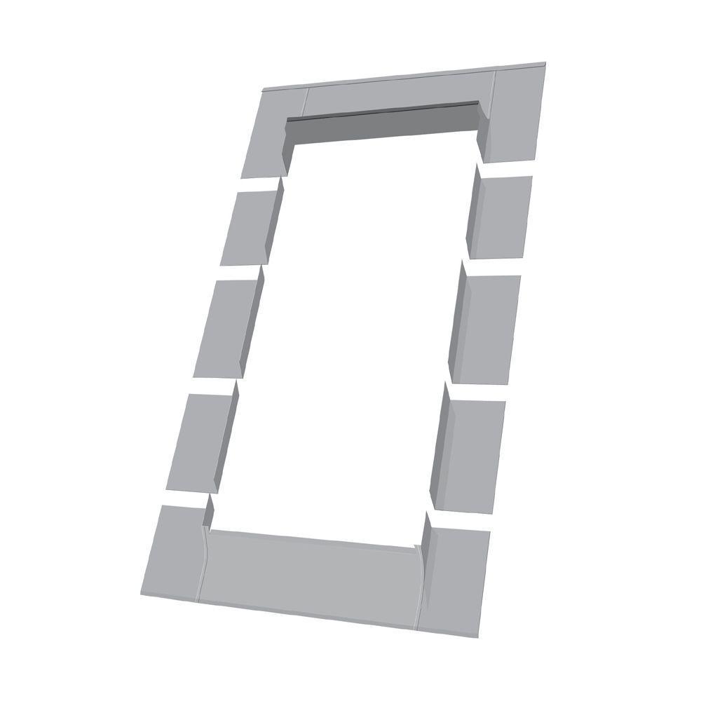 Fakro ELW 24 in. x 38 in. Aluminium Step Flashing Kit