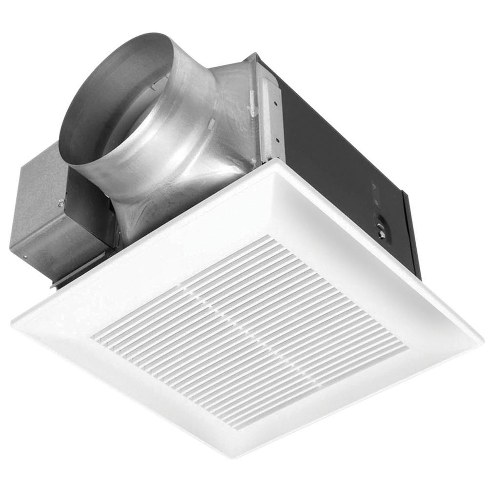 WhisperCeiling 190 CFM Ceiling Surface Mount Bathroom Exhaust Fan, ENERGY STAR