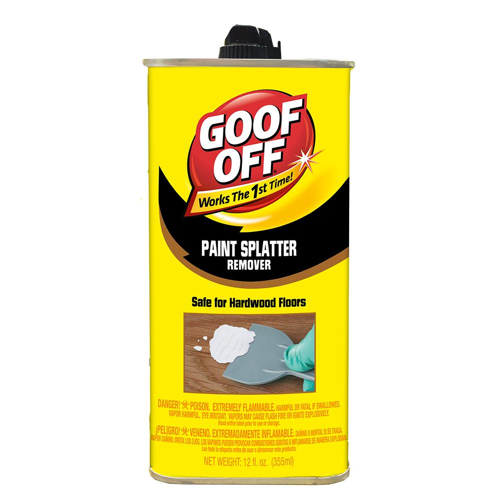 Goof Off 12 Oz Paint Remover For Hardwood
