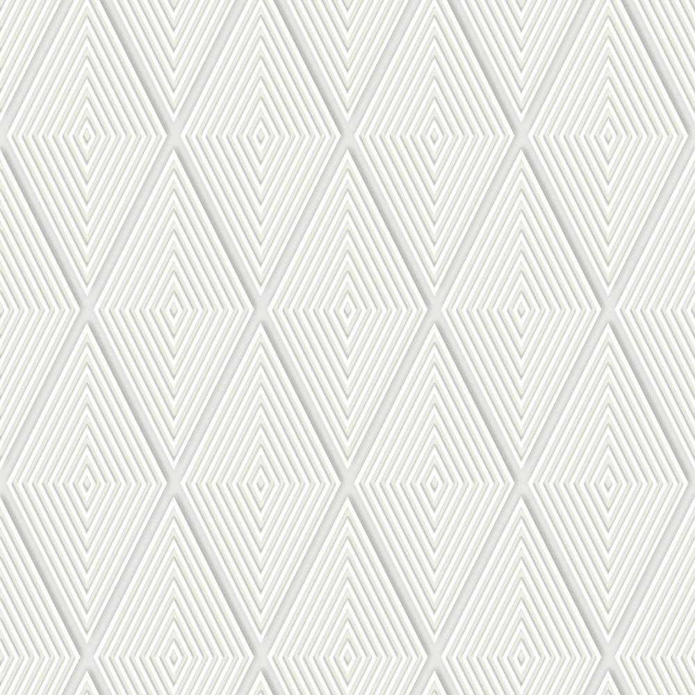 Conduit Diamond Paper Strippable Wallpaper (Covers 56 sq. ft.)