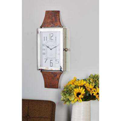 Multi-Colored Wristwatch-Inspired Wall Clock