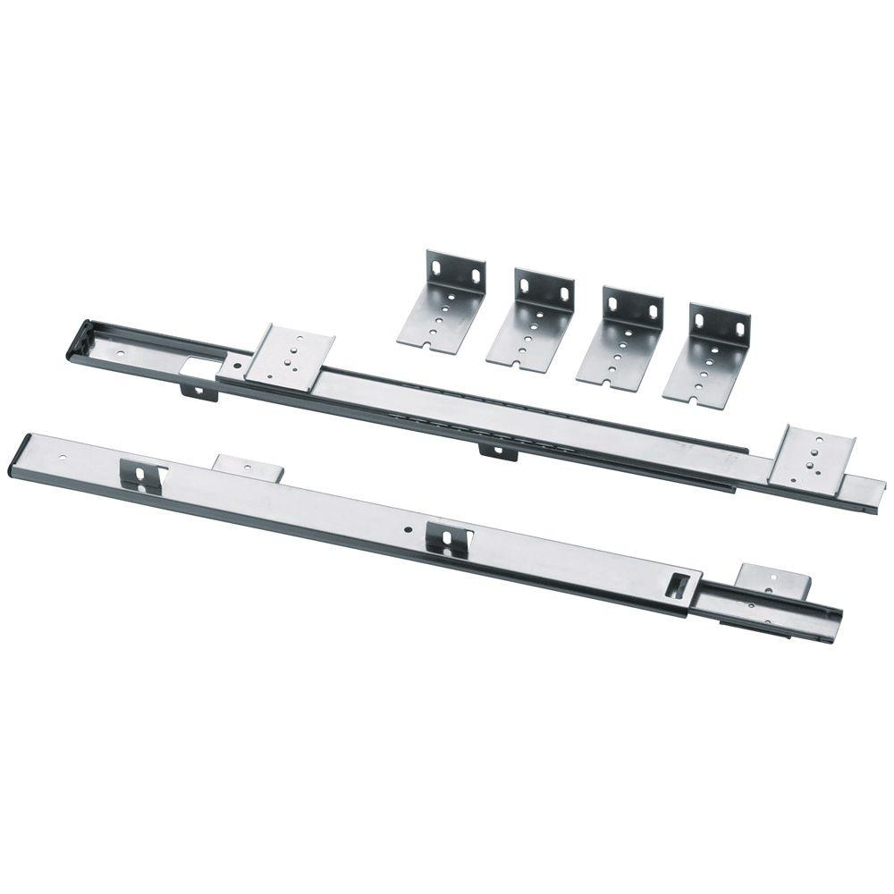 Liberty 16 in. Adjustable Keyboard Drawer Slide (1-Pair)