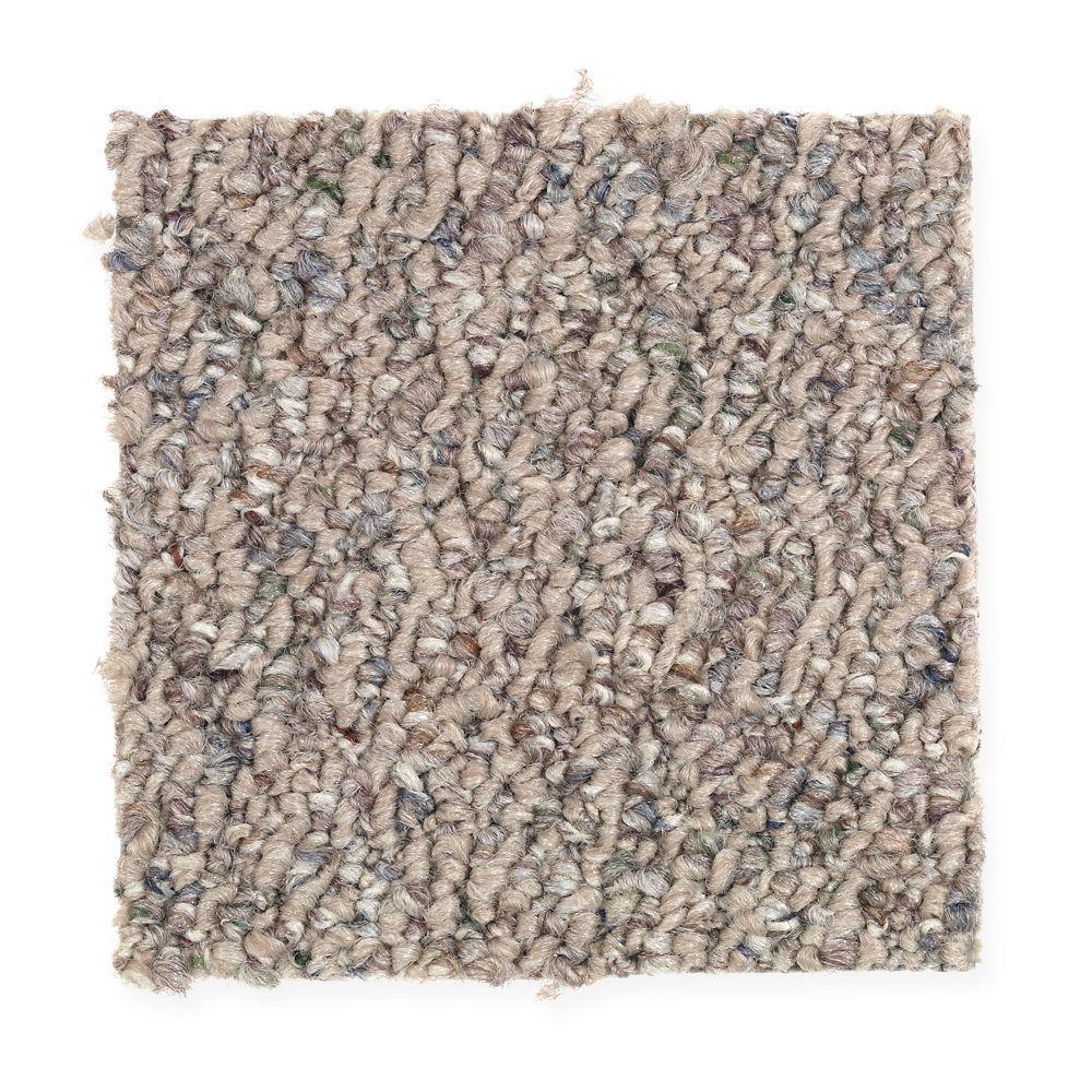 Carpet Sample - Speeding - Color Rosewood Loop 8 in. x 8 in.