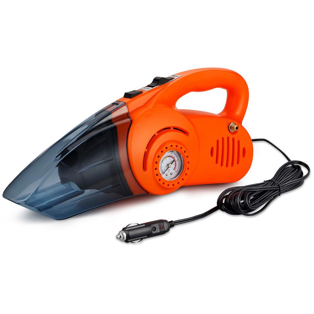 Portable Air Compressor and Car Vacuum Cleaner