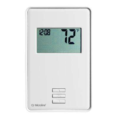 nTrust Non-Programmable Thermostat with Floor Sensor