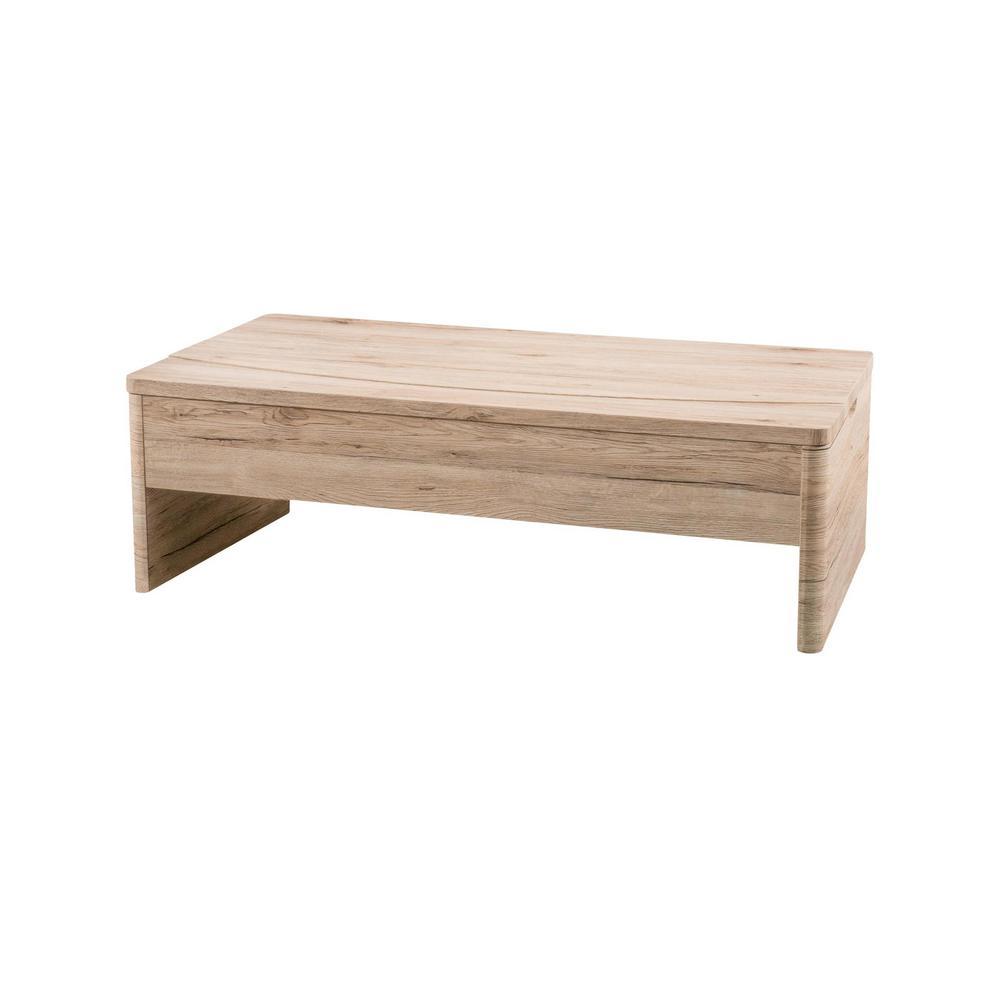 Sanremo Oak Lift Top Coffee Table