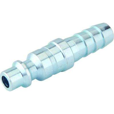 Zinc 1/4 in. x 3/8 in. Industrial Barbed Plug