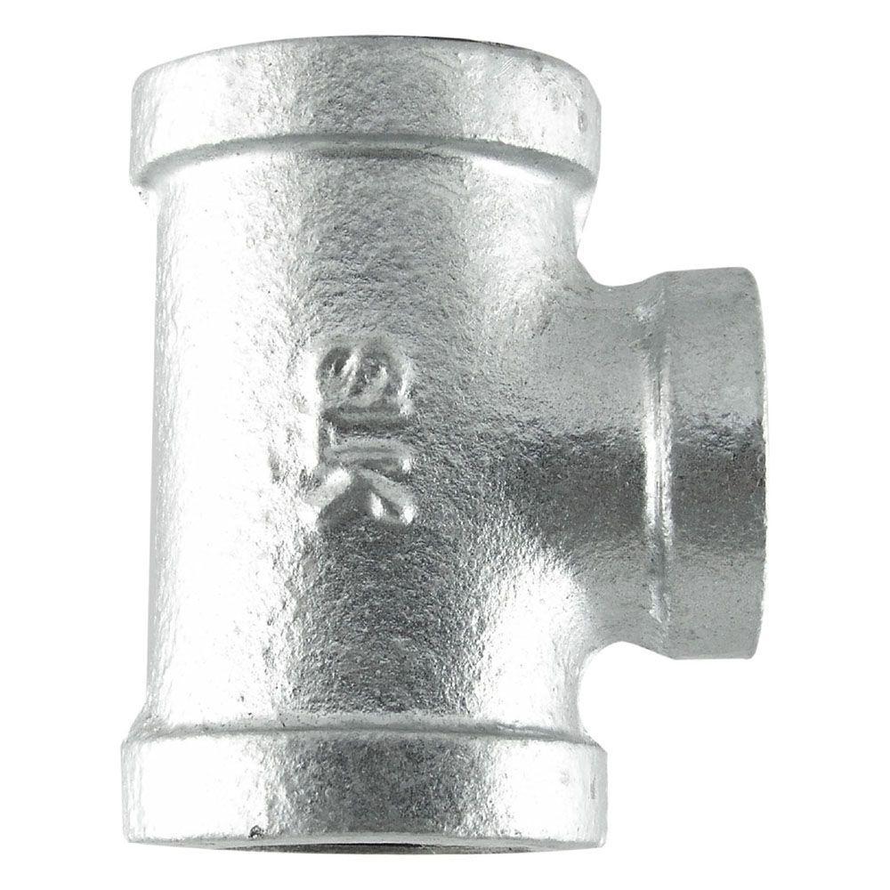 2 in. Galvanized Iron Tee