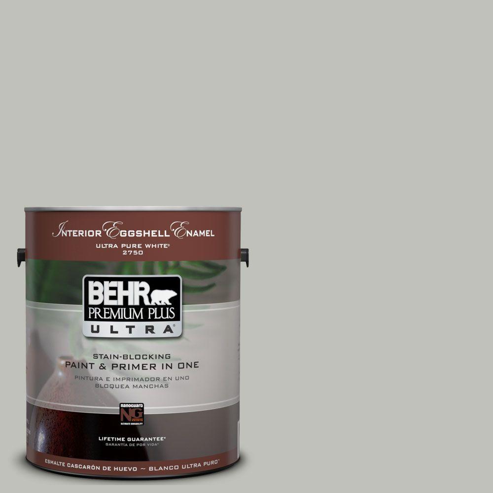 BEHR Premium Plus Ultra 1 Gal   UL210 8 Silver Sage Interior Eggshell. BEHR Premium Plus Ultra 1 Gal   UL210 8 Silver Sage Interior