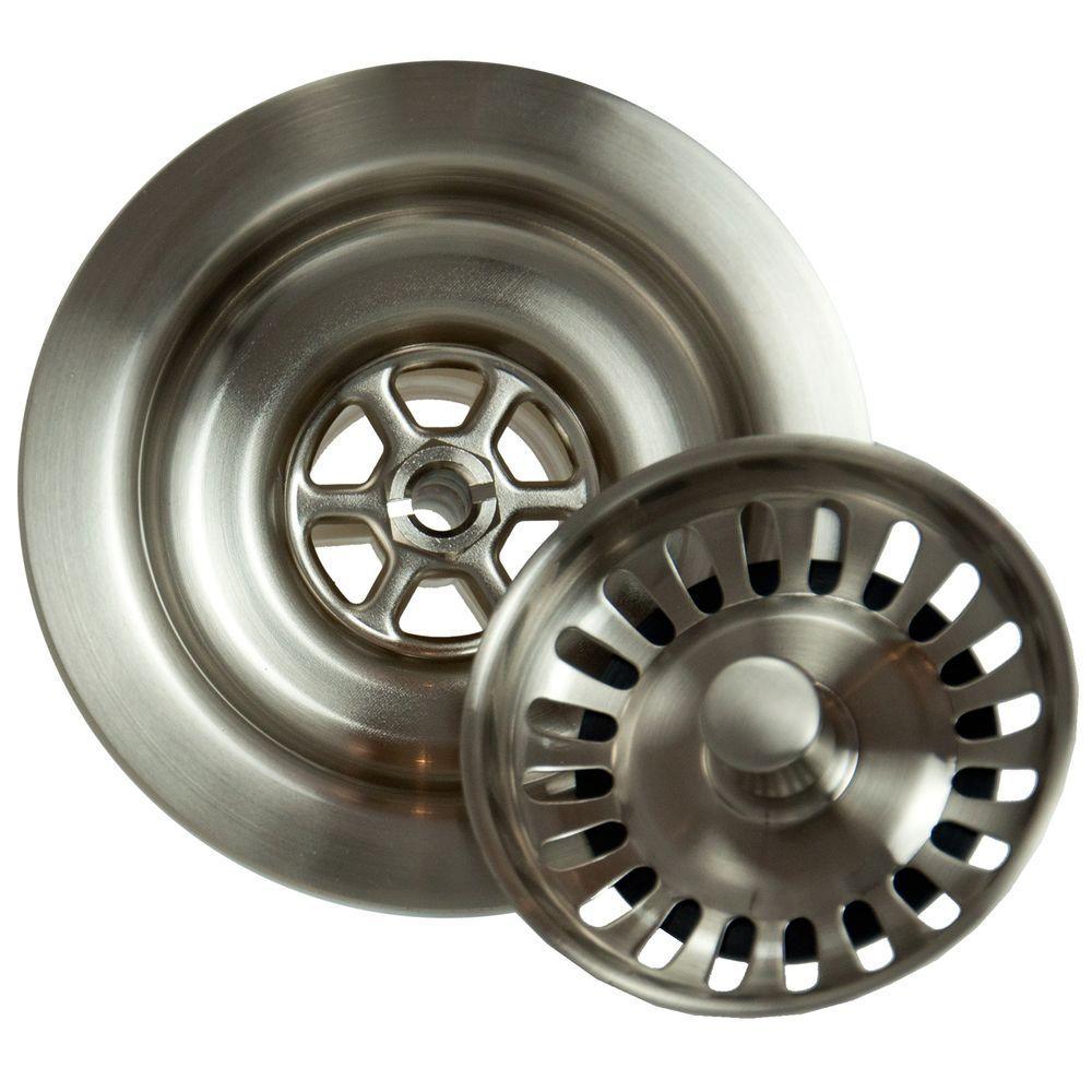4.5 in. Kitchen Strainer in Brushed Nickel