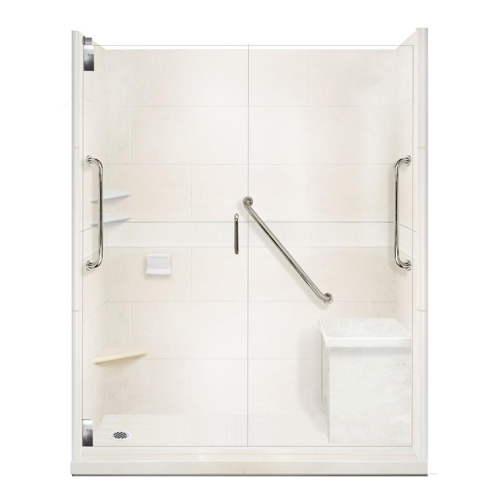 Classic Freedom Grand Hinged 34 in. x 60 in. x 80