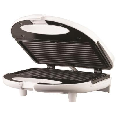 White Nonstick Panini Press and Sandwich Maker