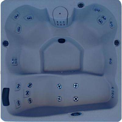5-Person 22-Jet Plug and Play Laguna Spa Hot Tub with Hard Top Cover
