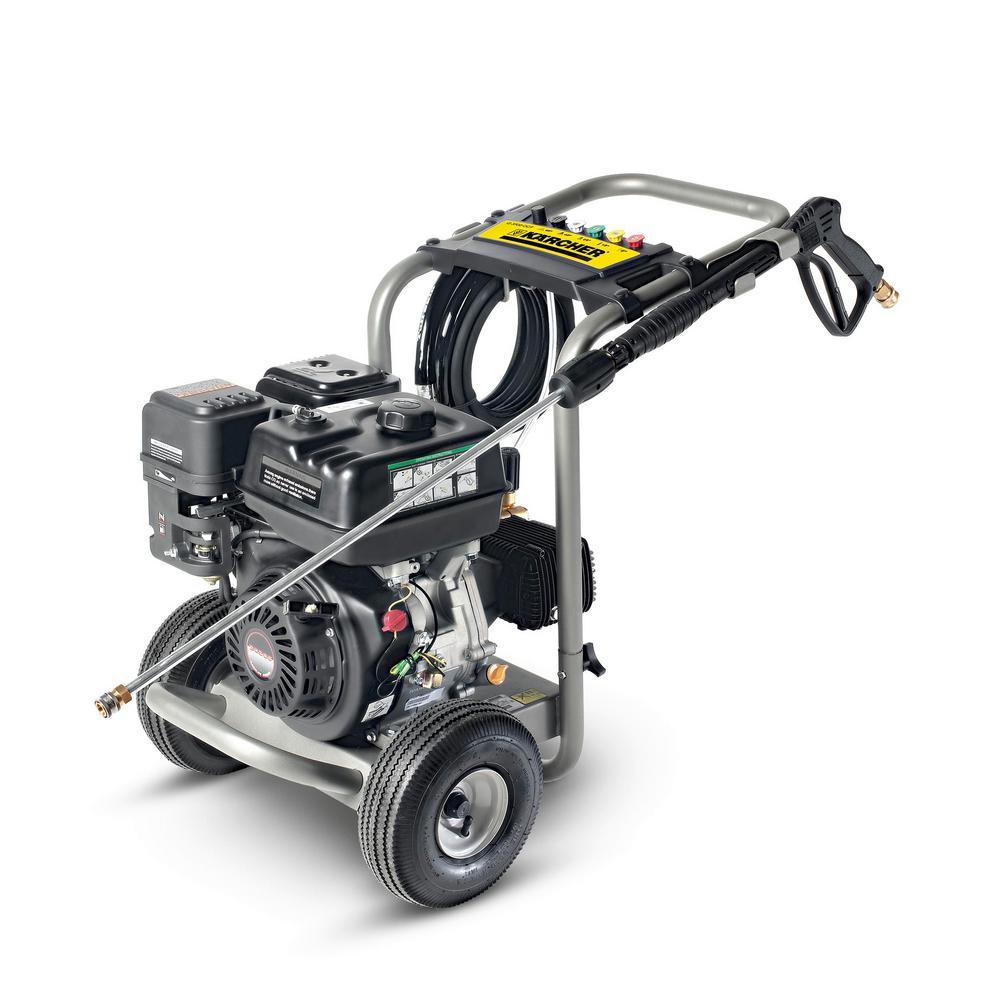 Pro Series 3,500 psi Triplex Pump Gas Pressure Washer
