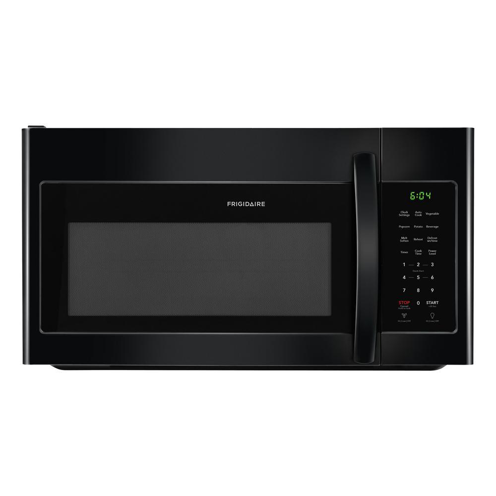 30 in. 1.7 cu. ft. Over the Range Microwave in Black