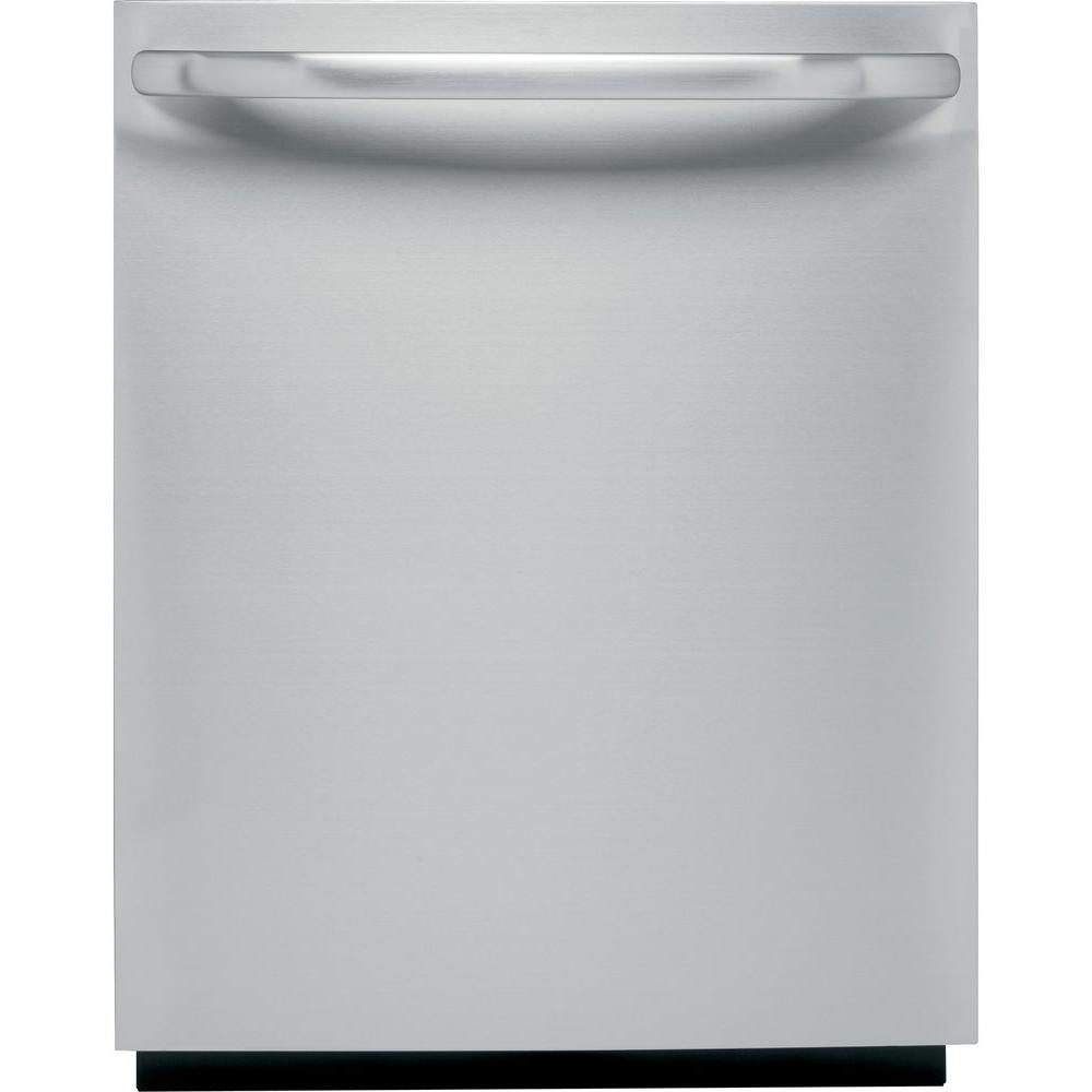 GE Top Control Dishwasher in Stainless Steel with Stainless Steel Tub