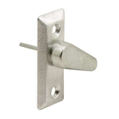 Steel Pin Sliding Door Latch Lever and Plate with Die Cast Lever