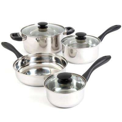 Silver Stream 7-Piece Cookware Set