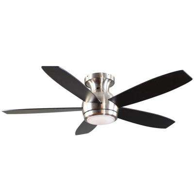 Treviso 52 in. Brushed Nickel Indoor LED Ceiling Fan with Remote Control
