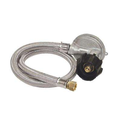 High Pressure Hose with 1 psi Regulator