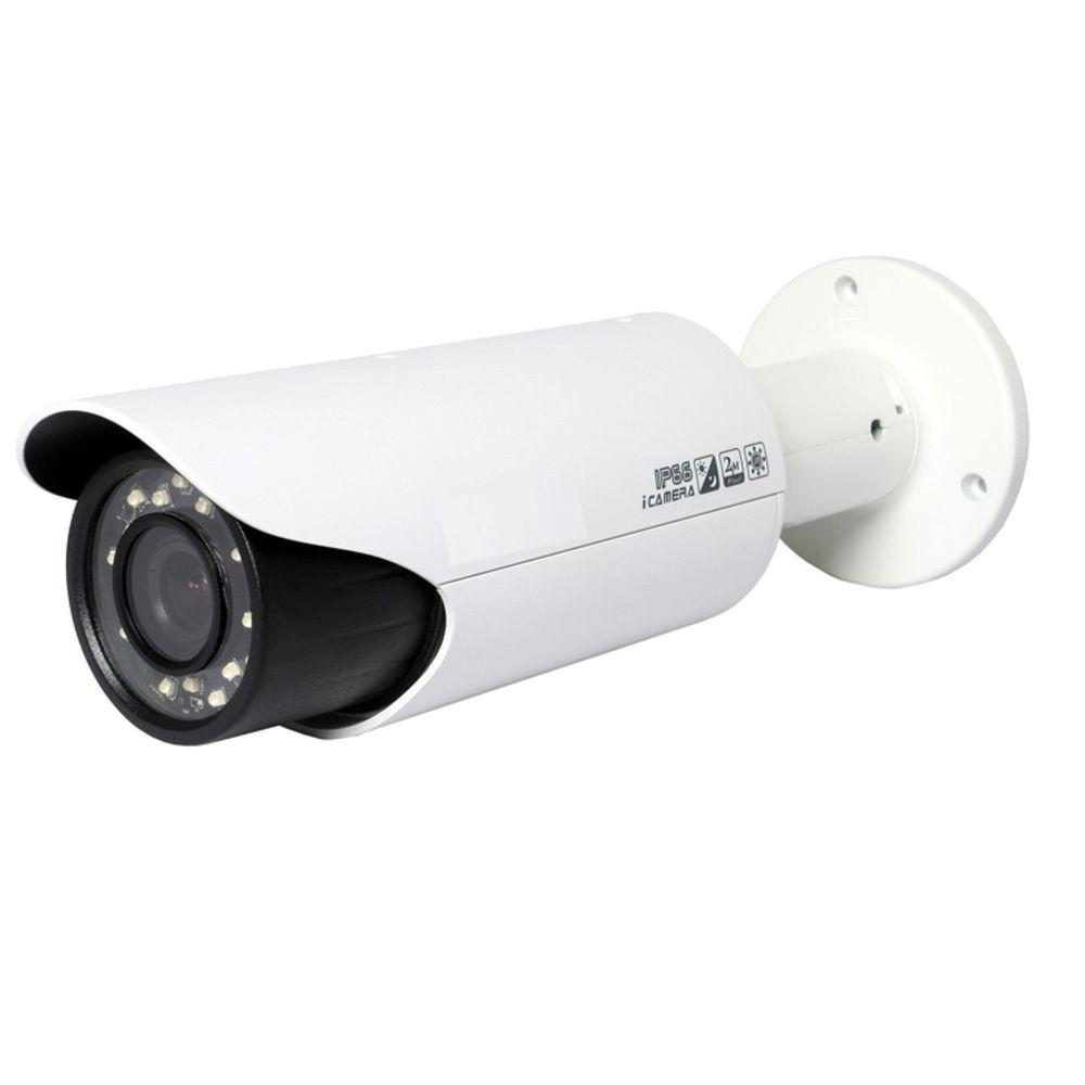SeqCam Wired 2 Megapixel Full HD Network IR-Bullet Indoor or Outdoor Standard Surveillance Camera