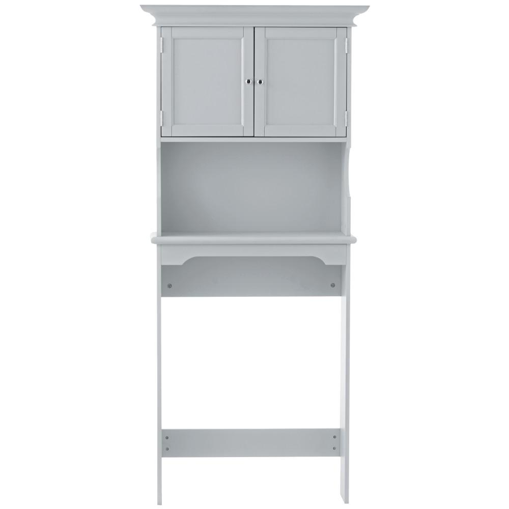 Hampton Harbor 30 in. Space Saver in Dove Grey