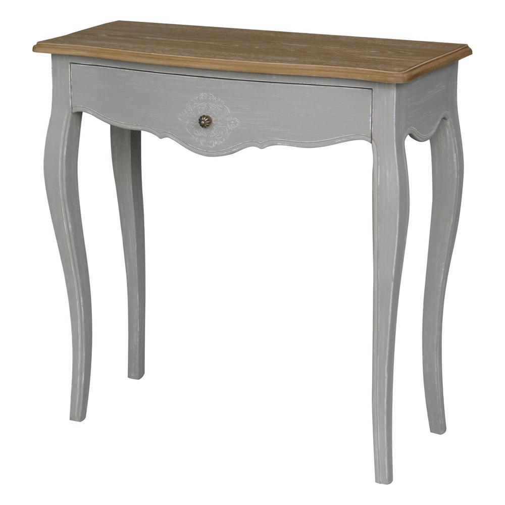 antique white sofa table. Ashbury Stradivarius White Washed Natural Oak Veneer And Antique 1-Drawer Console Table Sofa O