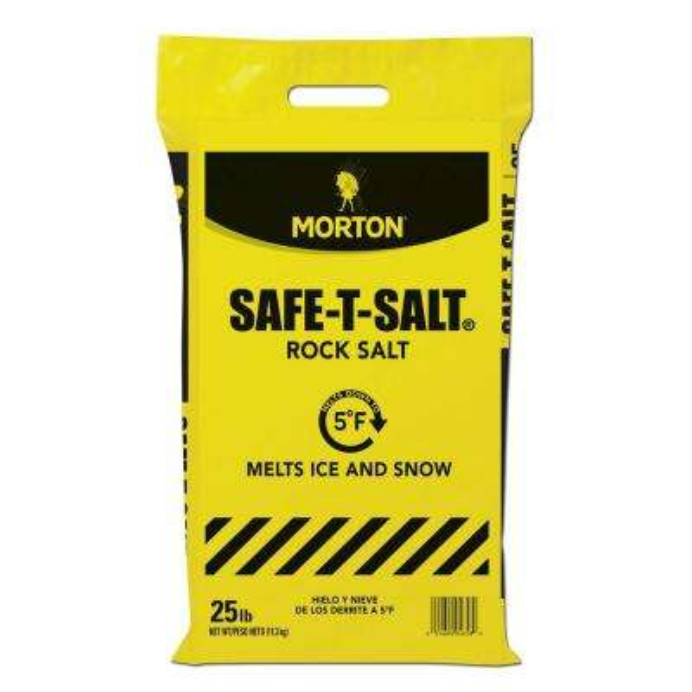25 lb. Rock Salt Bag