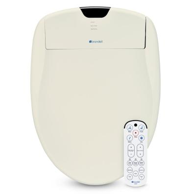 Swash 1400 Luxury Electric Bidet Seat for Elongated Toilet in Biscuit