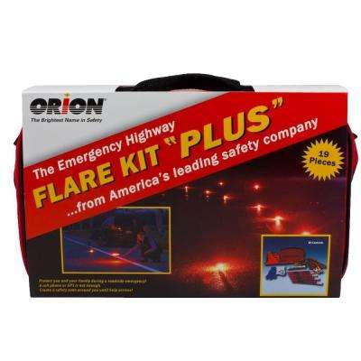 30 Minute Flare Kit Plus Emergency Kit
