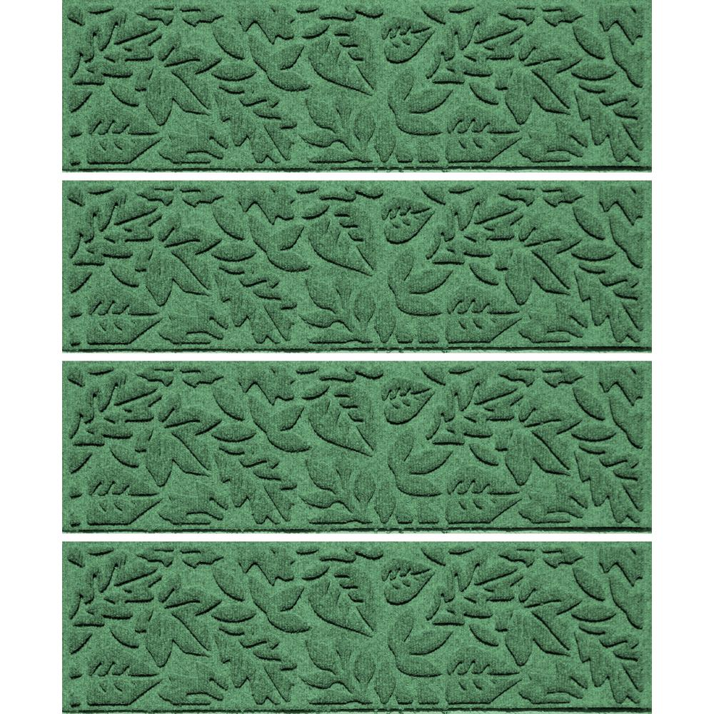 Light Green 8.5 in. x 30 in. Fall Day Stair Tread