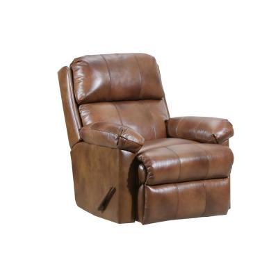 Soft Touch Chaps Leather Rocker Recliner