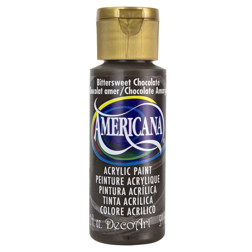 Americana 2 oz. Bittersweet Chocolate Acrylic Paint