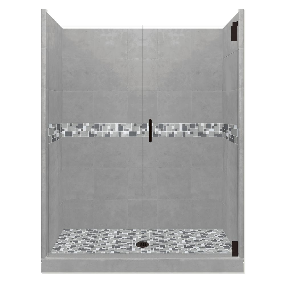 Newport Grand Hinged 36 in. x 48 in. x 80 in.