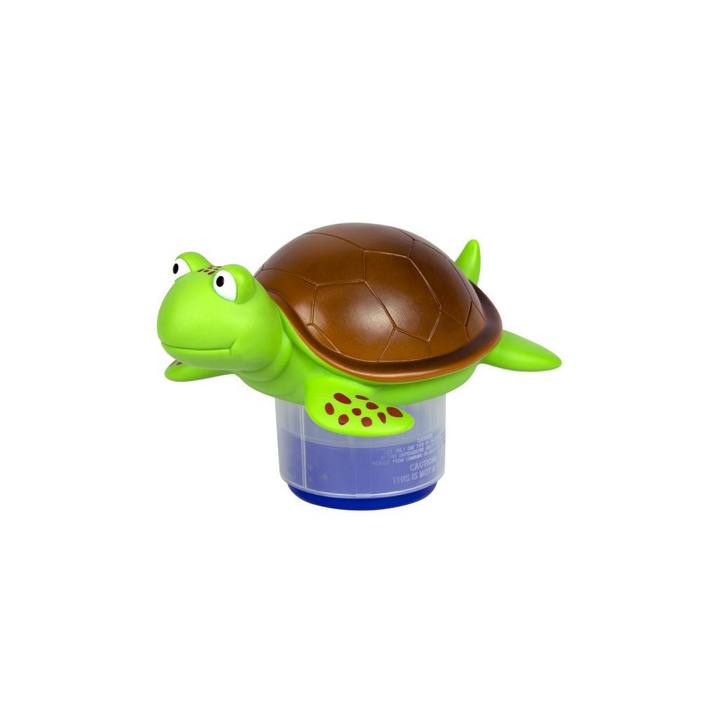 Turtle Swimming Pool and Spa Chlorine Dispenser