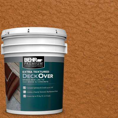 5 gal. #SC-533 Cedar Naturaltone Extra Textured Solid Color Exterior Wood and Concrete Coating