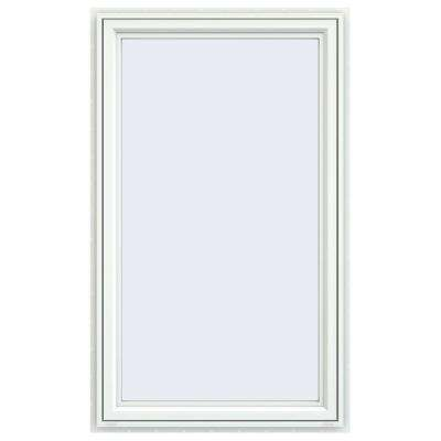 35.5 in. x 59.5 in. V-4500 Series Left-Hand Casement Vinyl Window - White